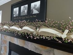 Spring Garland, Summer Garland, Mantle Garland, Berry Garland, Spring Decoration, Easter Garland, Fireplace Garland, Swags By Kari  *************  This Spring why not add this garland to your home. Perfect for the mantel, a large window sill, bookcase, on the TV stand, shelf or any place that needs a splash of color.  I started with pink and green berry garland, then added burlap topped with cotton ribbon. I then finished it off with cotton ribbon ties and jute twine. This Garland is about 7…