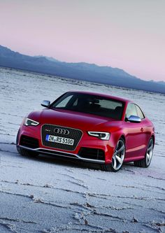 ♂ Red car 2012 Audi RS5