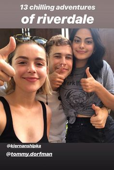 Netflix, It's a Go, of the Join Forces Idea of Camila Mendes, Tommy Dorfman, and Kiernan Shipka. Vanessa Morgan, Archie Comics, Ross Lynch, Series Movies, Tv Series, Crossover, Petsch, List Of Actors, Johnny Galecki