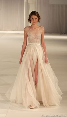 Paolo Sebastian - Sydney Fashion Palette 2012   This dress is absolutely stunning