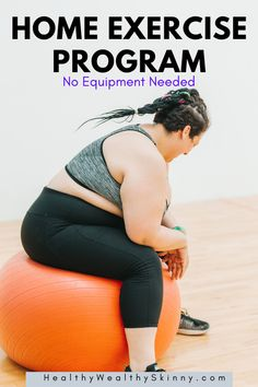 Workouts do not require a gym. Create your own Home Exercise Program using 20 exercises you can do at home with no equipment needed. Home Exercise Program, At Home Workout Plan, Workout Programs, At Home Workouts, Chest Muscles, Calf Muscles, Belly Blaster, Gluteus Medius, Workout Warm Up