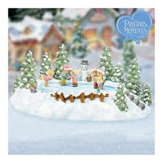 Precious Moments Christmas Village | PRECIOUS MOMENTS | Pinterest ...
