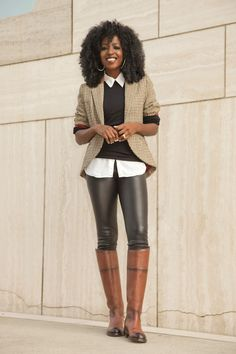 Love this equestrian look!