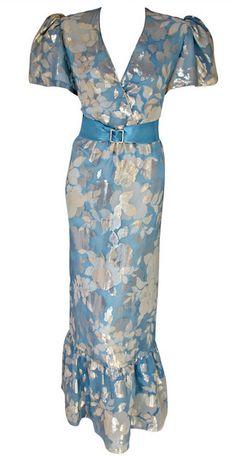 Dress Hanae Mori, 1980s 1stdibs.com