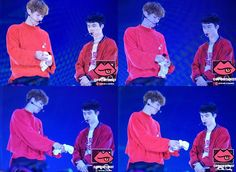 170514 #ChanSoo @ EXO CHANNEL 'EXO CUP' Day 3 - 'Triple Cup'