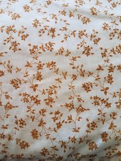 Vintage 1970/'s Poly-Cotton Fabric Peachy Pink Crosses /& Bows
