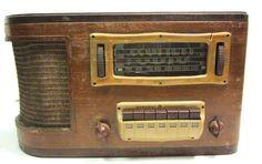 Antique GE H-634 Tube Table Radio