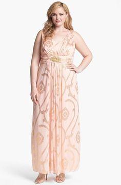 cutethickgirls.com gold-plus-size-dress-18 #plussizedresses