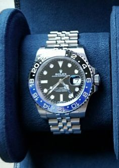 Let's See Your GMT-Master on a Jubilee Bracelet - Page 7 - Rolex Forums - Rolex Watch Forum Rolex Watches For Men, Best Watches For Men, Sport Watches, Luxury Watches, Cool Watches, Men's Watches, Gmt Batman, Rolex Tudor, Submariner Date