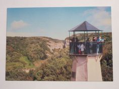 PC of Pavey's Lookout Tower, Cheddar Showcaves, Cheddar Gorge, Somerset