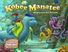 """This book is the third release in the award-winning Kobee Manatee Children's Educational Picture Book series! Will Kobee and his friends, Tess the seahorse, and Pablo the hermit crab, be able to travel safely to Puerto Rico on a quest to explore the SS Antonio Lopez shipwreck.  Each page includes in-depth, scientific details titled """"Kobee's Fun Facts,"""" which expand upon the types of fish and rays found during their adventure."""