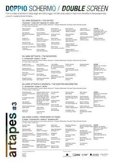 """Oggi passo al Museo MAXXI per """"Doppio Schermo - Film e video d'artista in Italia dagli anni '60 a oggi"""", a cura di Bruno Di Marino. Dal 31 ottobre in programmazione anche il mio video """"Liszt""""."""