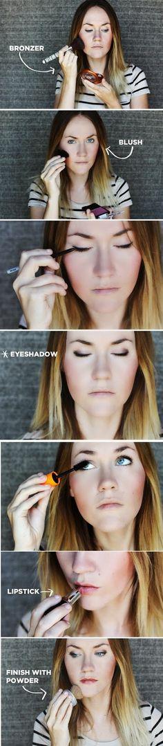Everyday Makeup Tutorial - Chic Look