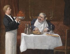 Henri Brispot (1846-1928)  — Gourmet,1928 (1280×993)