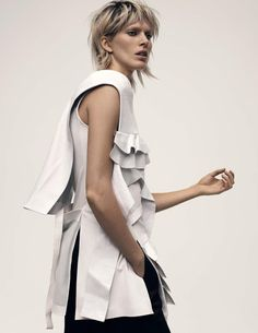 Iselin Steiro   Vogue UK Dezembro 2016   Editoriais - Revistas de Moda