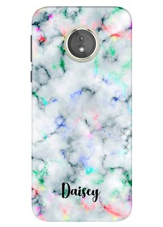 0edb5d814 Rainbow Marble Moto E5 Case, Moto E5 Plus Case, Moto E5 Play Case, Motorola  E 5th Gen, Personalised Phone Case, Custom Name - 73