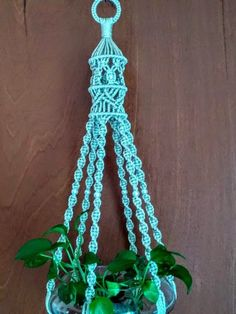 Handcrafted Unique Spiral Macrame Plant Hanger W/ Birdcage top 6 legs / Pearl beads / Indoor Home Decor / outdoor / Other colors Available by Hamptonfoxx on Etsy Macrame Hanging Planter, Macrame Plant Holder, Hanging Flower Baskets, Hanging Planters, Indoor Plant Hangers, Metal Plant Hangers, Wall Plant Hanger, Pot Hanger, Macrame Plant Hanger Patterns