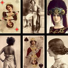 At the turn of the century, there were 3 gorgeous stage stars that were worshiped by many...Cleo, Lina and Otero.