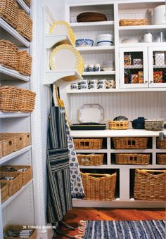 Downsizing means less space.  I will have to create a pantry in a corner of the basement (next to the laundry, Christmas storage, etc :( yeah, I know, buck-up!)  If I am going to do this, I am going to do it right!