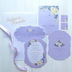 "924 Me gusta, 13 comentarios - Wedding Card Ideas (ID) (@weddingcard) en Instagram: ""Beautiful wedding invitation in acrylic material with a gold lines. Design by @dotandlinedesigns go…"""