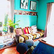 テレビボード/ドライフラワー/スワッグ/ブルー/色壁/ペイント壁…などに関連する他の写真