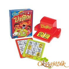 Bingo with a Zing. The best selling children's bingo ever! Zingo from Think Fun. Ages 4 to 8 years. Learning Games, Games To Play, Learning Express, Online Toy Stores, Playing Card Games, Bingo Games, Family Game Night, Family Games