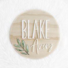 3D Name Plaques – Faith Laine