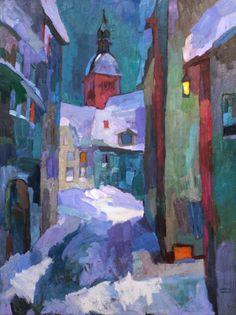 larisa aukon paintings | Larisa-Aukon,-It-was-Enough-to-Understand,-oil-on-linen,-40×30