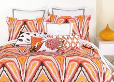 CLOSEOUT! Trina Turk Bedding, Peacock Punch Comforter and Duvet Cover Sets - Trina Turk - Bed & Bath - Macy's