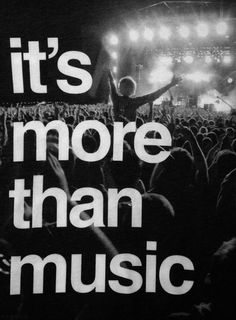 sooo much more than just music!
