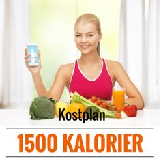 Kostplan på 1500 kalorier