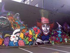 Amazing graffiti tag in Seattle #streetart #graffiti #art