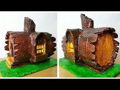 How to make beautiful fairy house very easy - YouTube