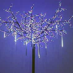 Snow Fall LED Lights (White and Extendable) - Next Deal Shop, ice rain lights  - 1