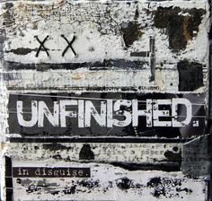 Unfinished. Mixed Media piece by Seth Apter  - via artpropelled - his blog can be found at http://thealteredpage.blogspot.com/