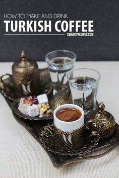 Authentic How to make Turkish Coffee - Swanky Recipes, ,