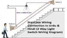 Simple Wiring Diagram For 3 Way Switches Wire Switch Video On How To In Electrical Switch Wiring, 3 Way Switch Wiring, Wire Switch, Lamp Switch, Electrical Wiring Diagram, Installing A Light Switch, Modern Light Switches, Switch House, Three Way Switch
