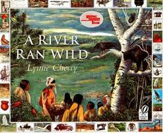 Children's Literature Book. Geographic Understandings. [Standard: SS4G2. The Student will describe how physical systems affect human systems. A. Explain why the Native American groups occupied the areas they did, with emphasis on why some developed permanent villages and others did not.] This book discusses the Native American's message of how to live off & with the river. Great read-aloud to make a connection between history and geography.
