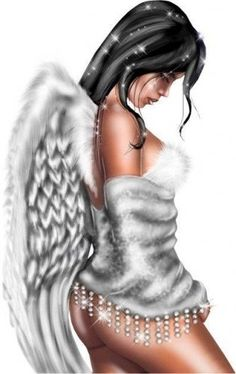 #beautiful #black #angel