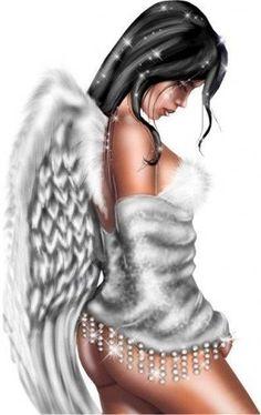 #beautiful #black #angel