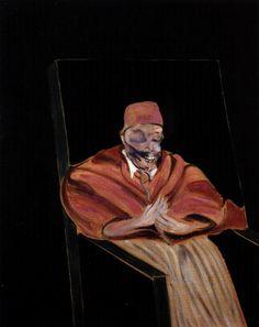 Francis Bacon - 1961, Study after Velázquez's Portrait of Pope Innocent X.