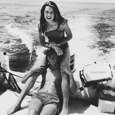 Brooke Shields and Christopher Atkins, 1980