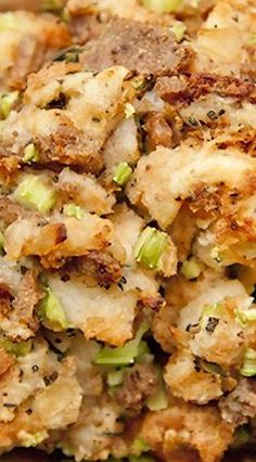 White Castle Stuffing (made with White Castle burgers)