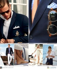 Ah yes, this is what I wear to my totally-real yacht club.