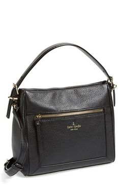 kate spade new york kate spade 'cobble hill - little harris' leather hobo available at #Nordstrom