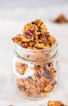 Pin for Later: 12 High-Protein After-School Snacks to Give Your Kiddos a Second Wind Peanut Butter and Jelly Granola Inspired by the Whole Food's favorite snack, this chewy yet crunchy treat can be borderline addicting.
