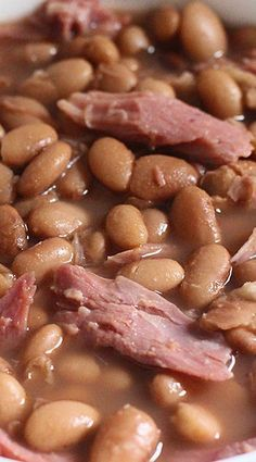Ham and Pinto Bean Soup Crockpot Ham and Pinto Bean SoupCrockpot Ham and Pinto Bean Soup Beans In Crockpot, Crockpot Dishes, Crockpot Recipes, Soup Recipes, Cooking Recipes, Recipies, Beans Recipes, Chili Recipes, Casserole Recipes