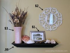 How to Decorate on a Budget {Dining Room} - Artsy Chicks Rule