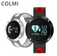 Colmi. Умные часы DM58. Спортивные водонепроницаемые пылезащищенные Bluetooth смарт часы, браслет сердечного ритма с функцией измерения артериального давления, пульс, шагомер и многое другое. Для Android и IOS.