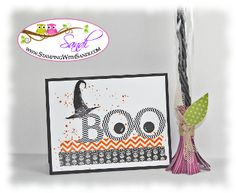BOO! by SandiMac - Cards and Paper Crafts at Splitcoaststampers